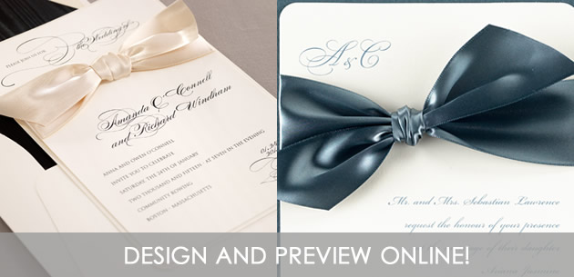 order wedding invitations & save the date cards from these, Wedding invitations